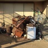 お庭の粗大ゴミ処分